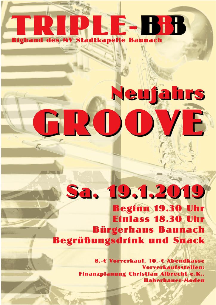 19.1.2019 Neujahrs-Groove