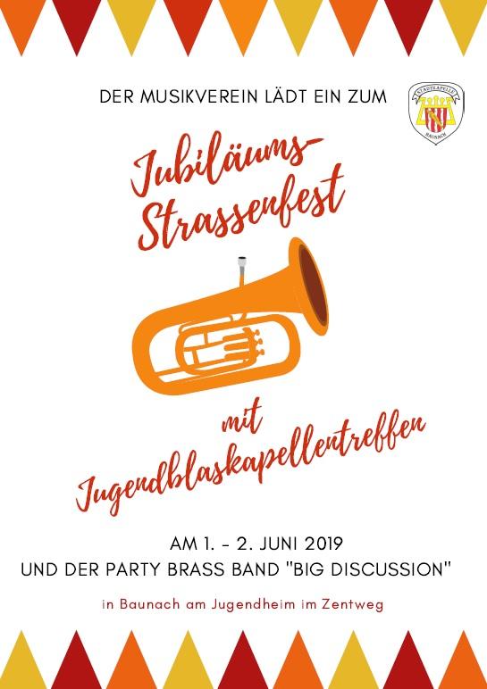 1. / 2.6.2019 Jubiläums-Straßenfest