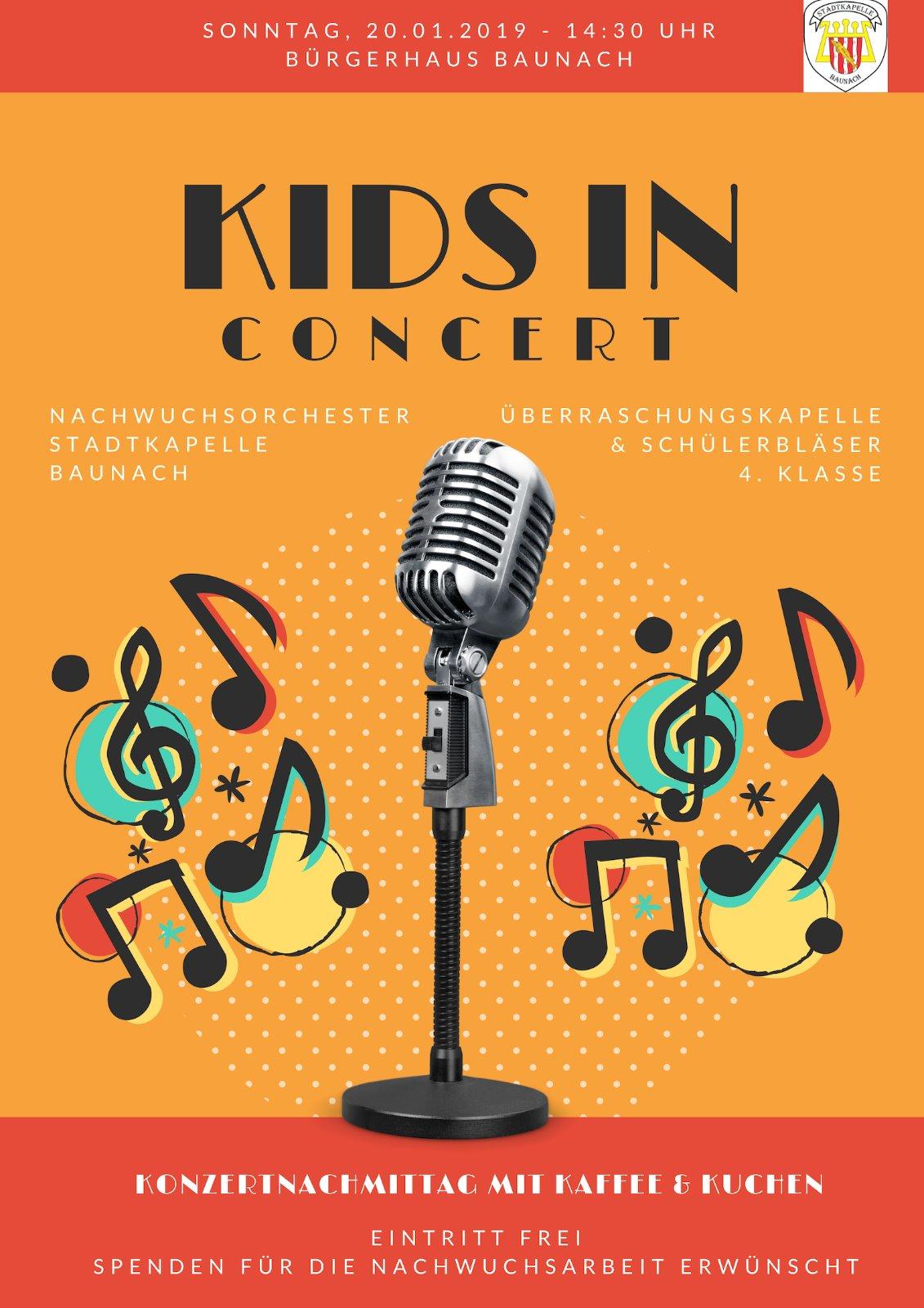 20.01.2019 Kids in Concert